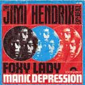 Jimi Hendrix Experience, Foxy lady